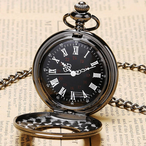 Retro Mechanical Pocket Watch | TEETERNAL - 1
