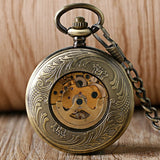 Steampunk Poker Mechanical Pocket Watch | TEETERNAL - 5