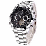 Stainless Steel Automatic Watch - TEETERNAL - 3