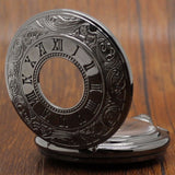 Hollow Mechanical Pocket Watch | TEETERNAL - 3