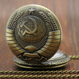 Sickle And Hammer Pocket Watch - Teeternal - 18
