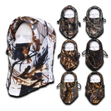 Camo Thermal Fleece Face Mask - Teeternal - 1