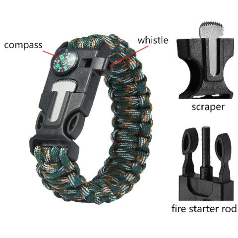 Paracord Survival Bracelet - Teeternal - 1