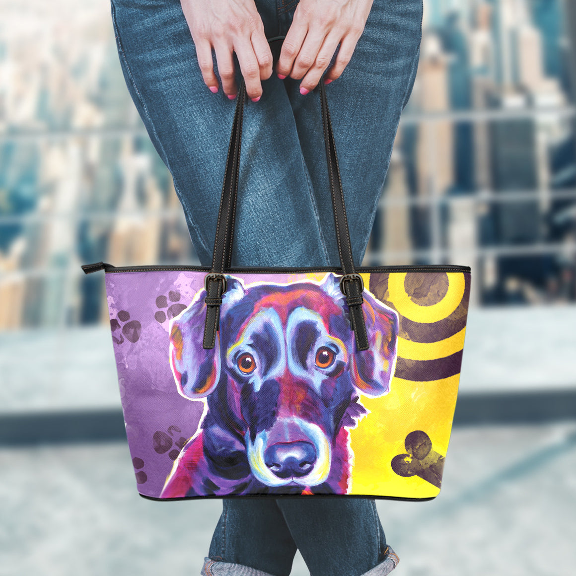 Labrador Leather Totes (Small)