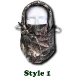 Camo Thermal Fleece Face Mask - Teeternal - 3