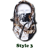 Camo Thermal Fleece Face Mask - Teeternal - 5