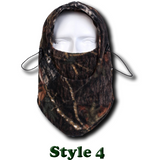 Camo Thermal Fleece Face Mask - Teeternal - 6