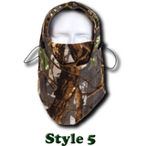 Camo Thermal Fleece Face Mask - Teeternal - 7