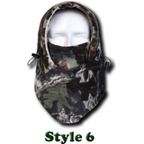 Camo Thermal Fleece Face Mask - Teeternal - 8