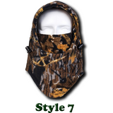 Camo Thermal Fleece Face Mask - Teeternal - 9