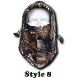 Camo Thermal Fleece Face Mask - Teeternal - 10