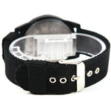 Military Style Canvas Belt Luminous Quartz Watch - Teeternal - 6