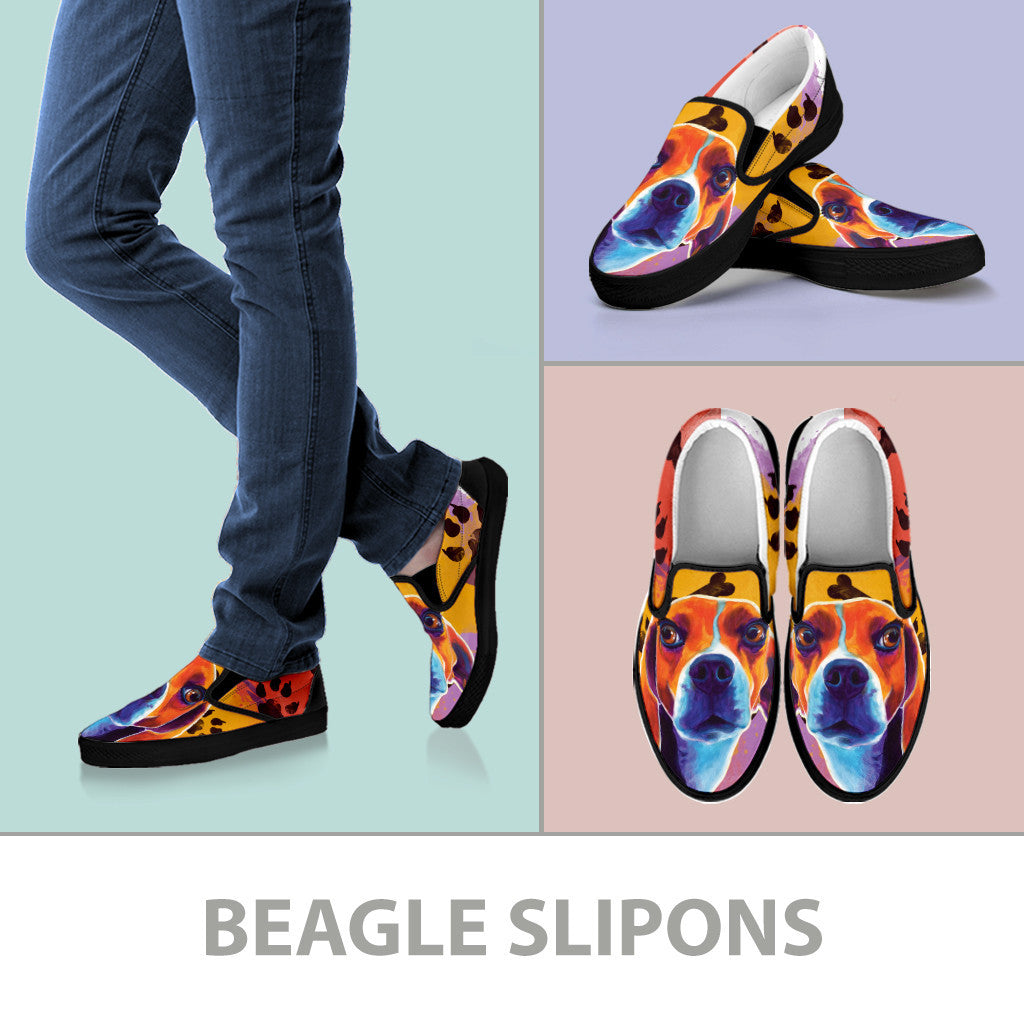 Beagle II Slip-On Shoes (Black)