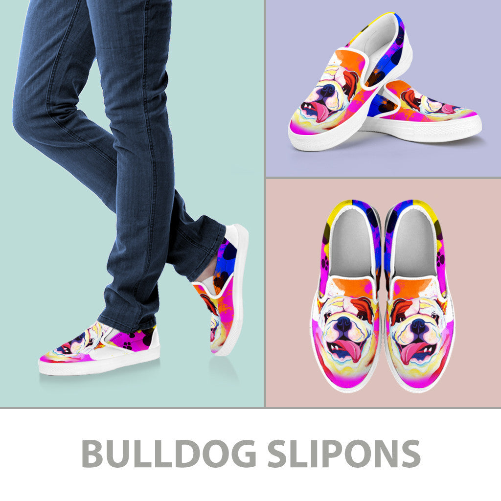 Bulldog Slip-On Shoes