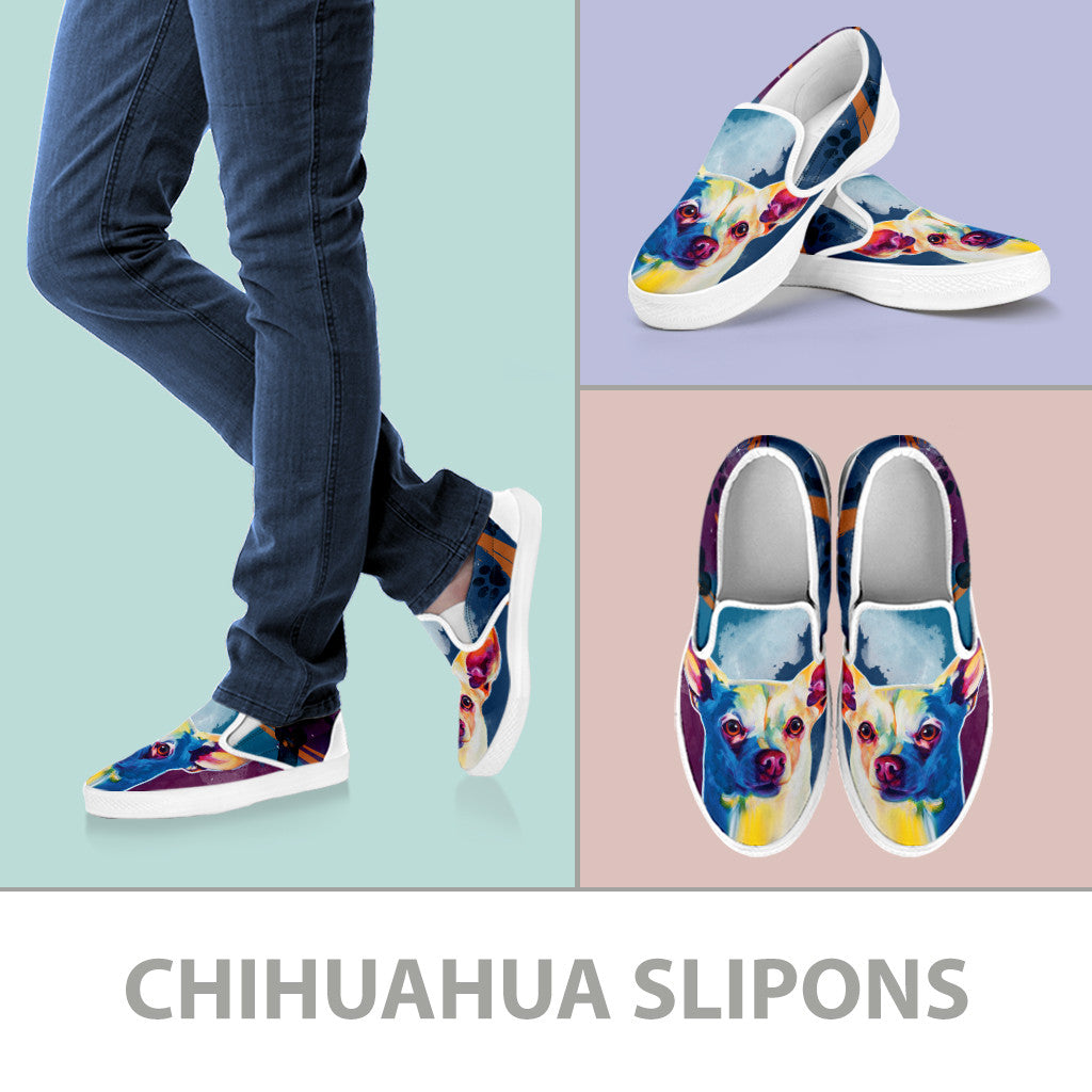Chihuahua Slip-On Shoes
