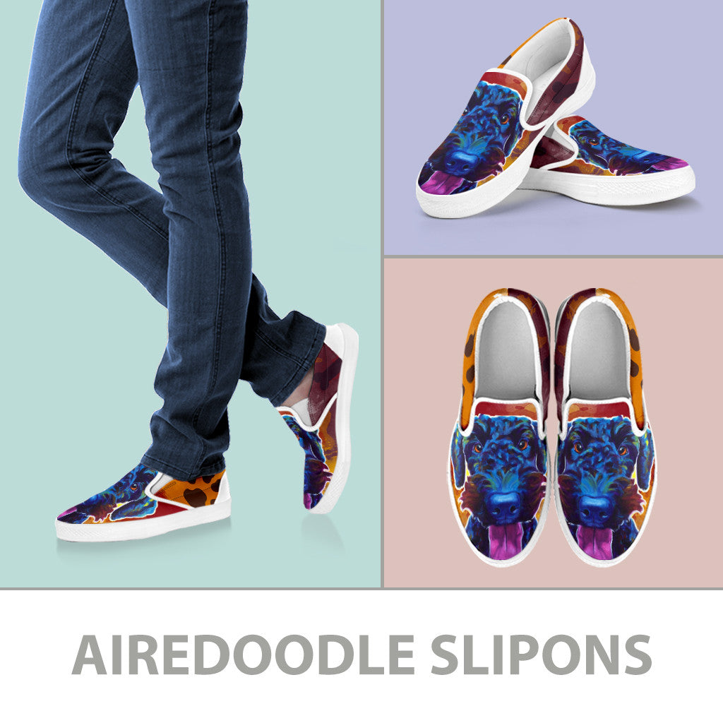 Airedoodle II Slip-On Shoes