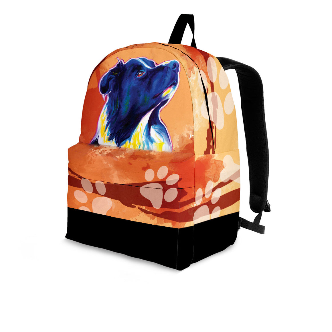 Border Collie Premium Backpack