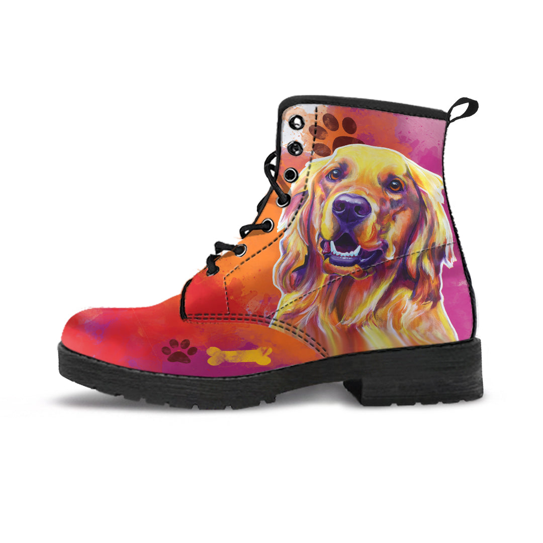 Golden Retriever II Premium Suede Boots