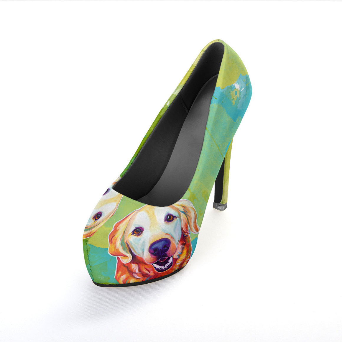 Golden Retriever High Heels