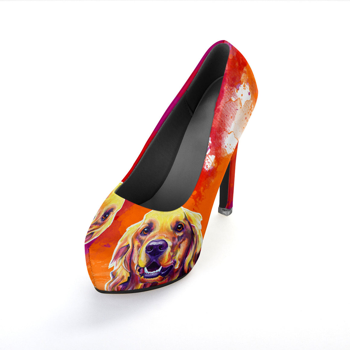 Golden Retriever II High Heels