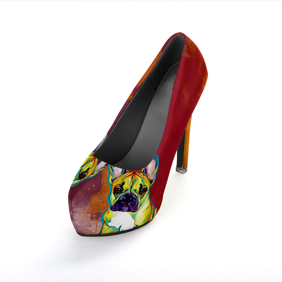 French Bulldog III High Heels