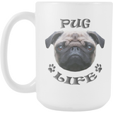 Pug Life Mug (15 oz) - Teeternal - 2
