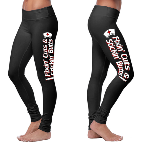 Fixing Cuts and Sticking Butts Leggings