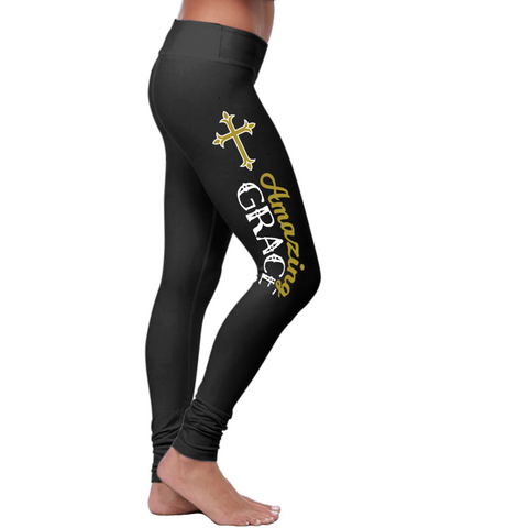 Christian Amazing Grace Leggings