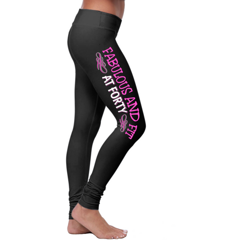 Fabulous and Fit at 40 Leggings