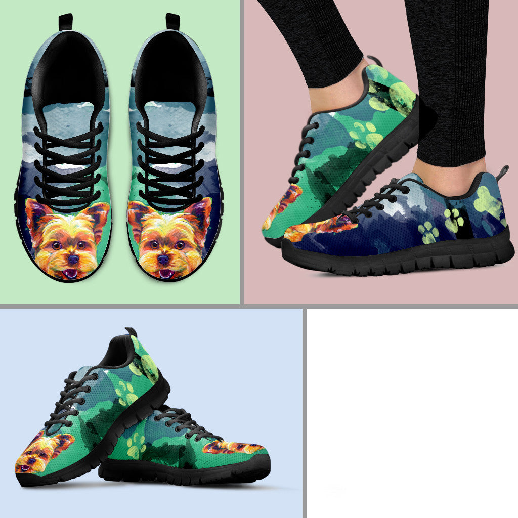 Yorkie II Running Shoes (Black)