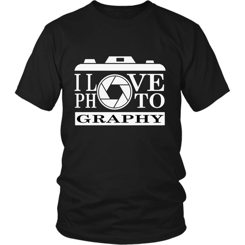T-Shirt - I Love Photography