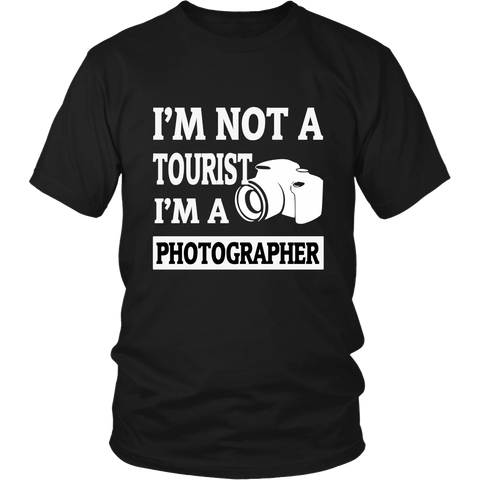 T-Shirt - I'm Not A Tourist