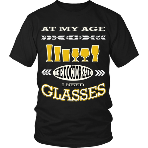 Glasses (T-shirt) - Teeternal - 1