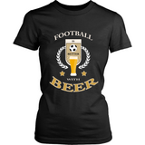 Football with Beer (T-shirt) - Teeternal - 4