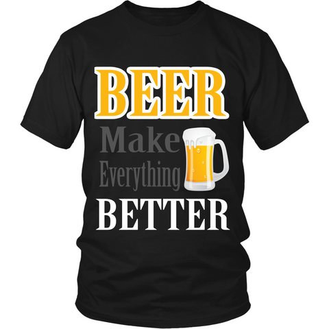 Beer Make Everything Better (T-shirt) - Teeternal - 1