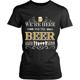 Beer - We're Here (T-shirt) - Teeternal - 4