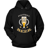 Football with Beer (T-shirt) - Teeternal - 3