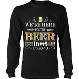 Beer - We're Here (T-shirt) - Teeternal - 2