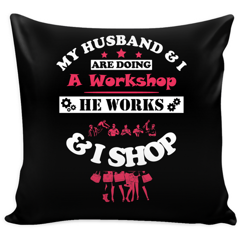 My Husband & I (Pillow Cover) - Teeternal