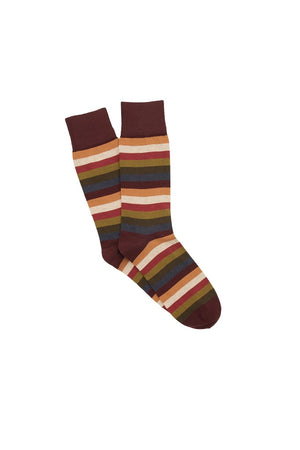 CORGI SOCKS 7 STRIPE 80-45-4250