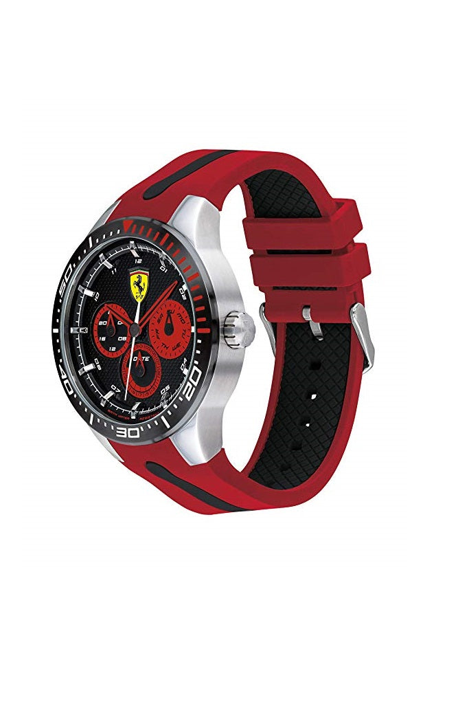 FERRARI WATCH - RERET - 0830586 - BLK/RED