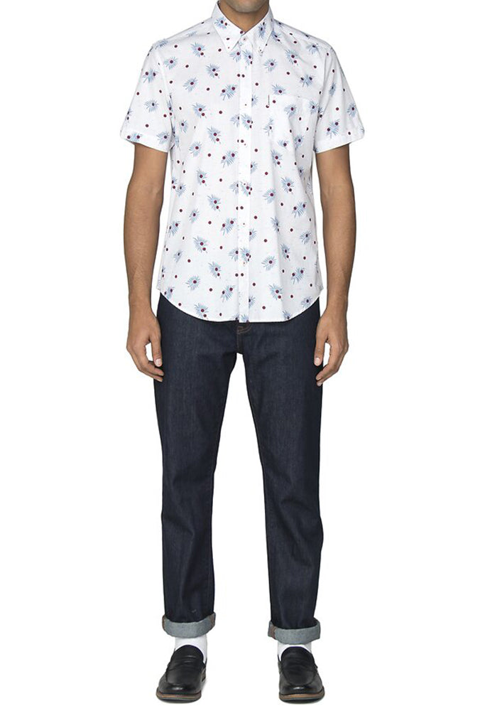 BEN SHERMAN S/S SHIRT PALM 540260