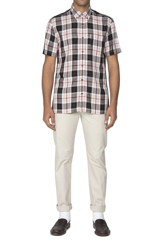 BEN SHERMAN S/S CHECK SHIRT 54194501