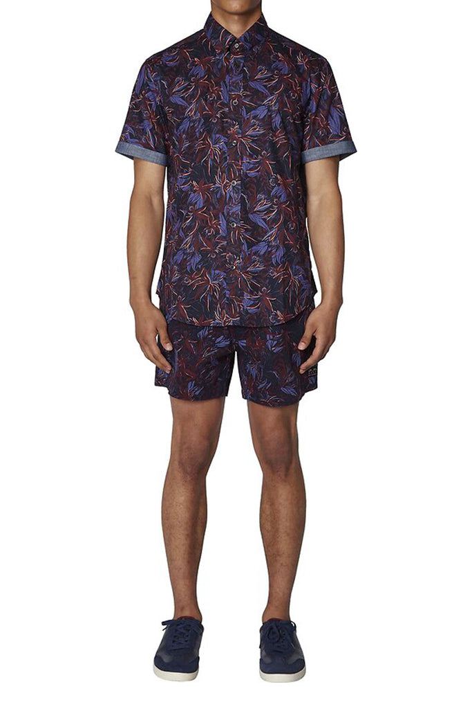 BEN SHERMAN S/S TROPICAL SHIRT 1011025