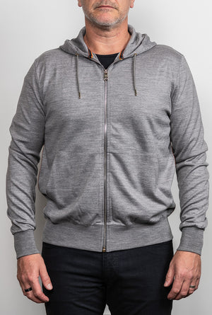 PAUL SMITH MERINO HOODIE - C00035