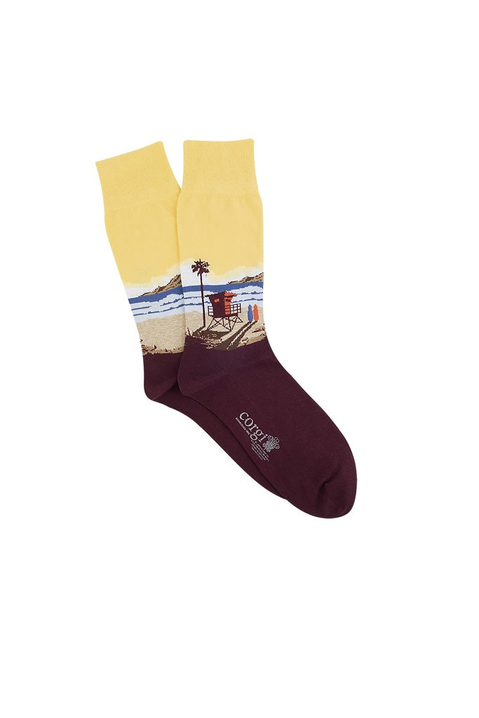 CORGI SOCKS YELLOW 80-45-5189