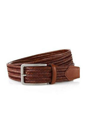 ROBERT CHARLES PLAITED BELT - 1068