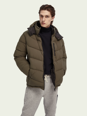 Scotch & Soda PUFFER JACKET - 158288