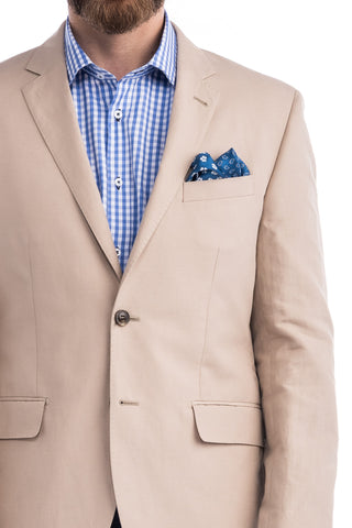 Sergio's Collection Sports Coat (Natural)