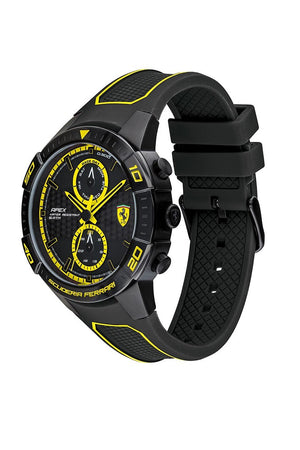 FERRARI WATCH - APEX - 0830633  - BLK/YELW
